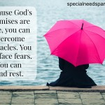 """""""God won't give you more than you can handle"""" is not true. But God's promises found in Scripture are true."""